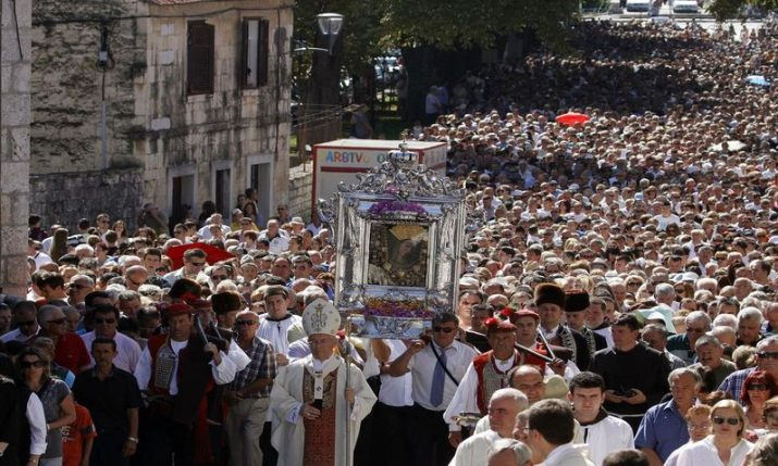 Traditional procession in Sinj on Velika Gospa called off