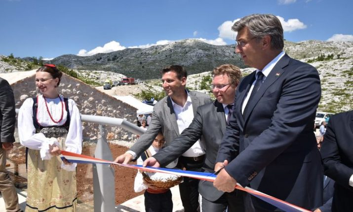 Skywalk in Biokovo Nature Park formally opened by officials
