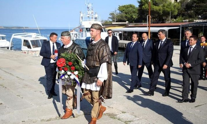 Remembering victims of totalitarian regimes held on Goli Otok