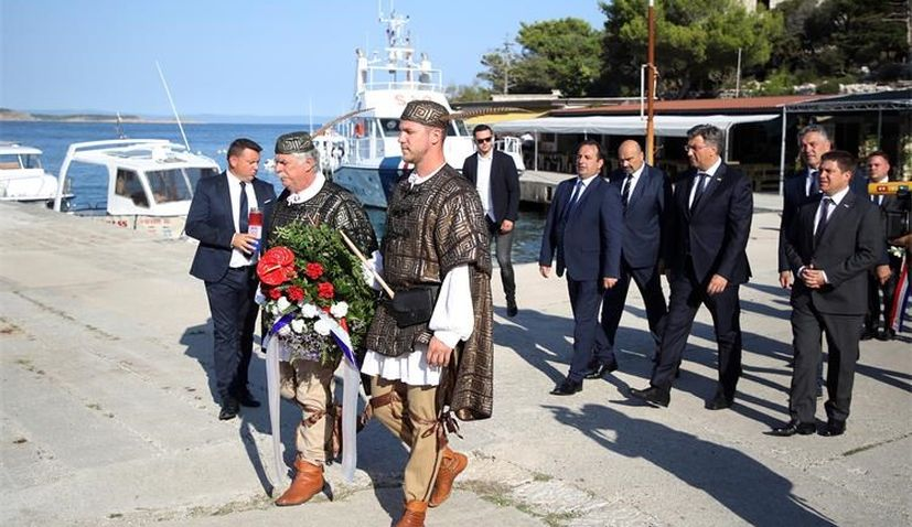 Remembering victims of totalitarian regimes held on Goli Otok