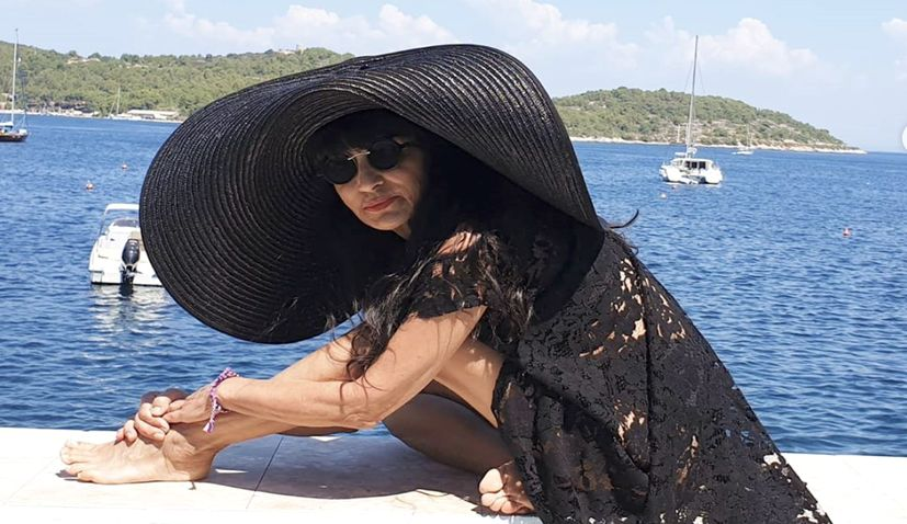 Dresses of Croatian designer Matija Vuica on The Bachelor Australia 2020