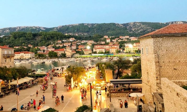 Corona-free island of Rab records 80% of last year's tourist traffic