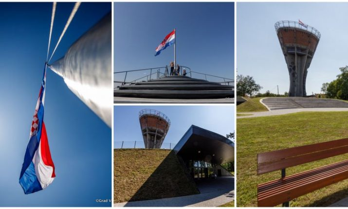 PHOTOS: Vukovar Water Tower – a symbol of Croatian unity undergoes major developments