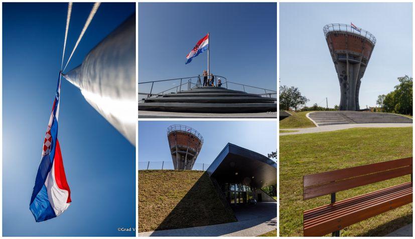 PHOTOS: Vukovar Water Tower – a symbol of Croatian unity undergoes major developments