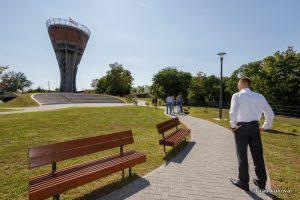 Vukovar water tower upgrade