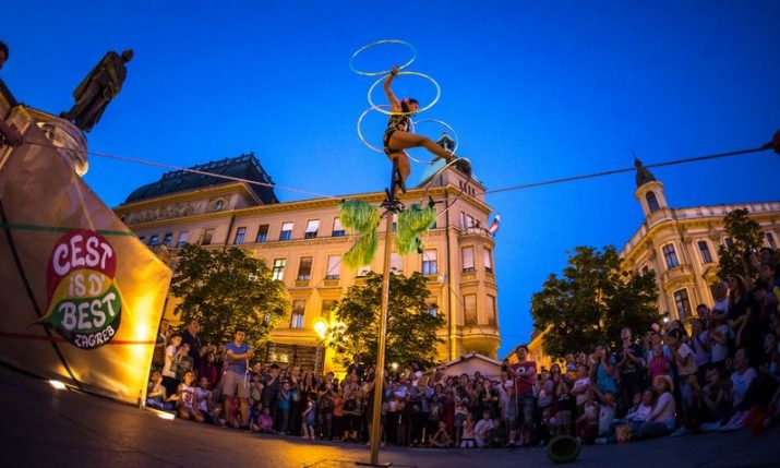 International street festival Cest is d'Best to start in Zagreb on Aug 19