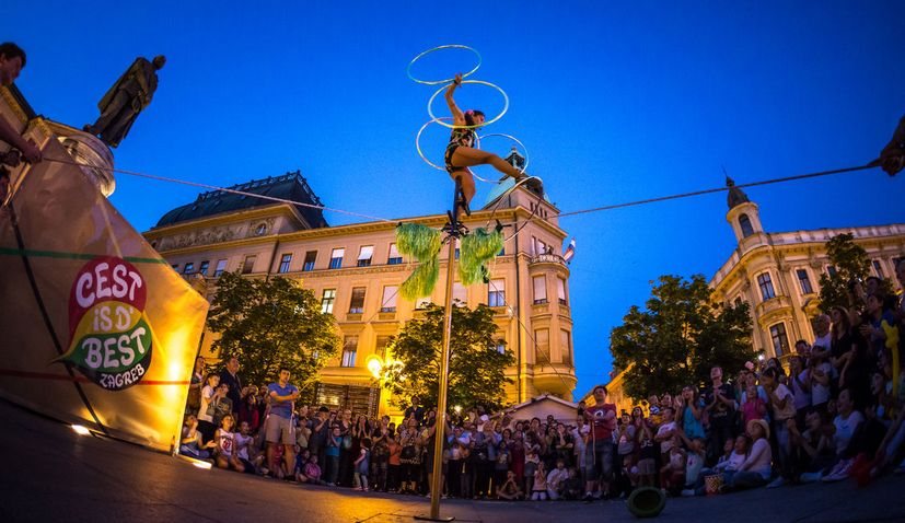 International street festival Cest is d'Best to start in Zagreb on Aug 19