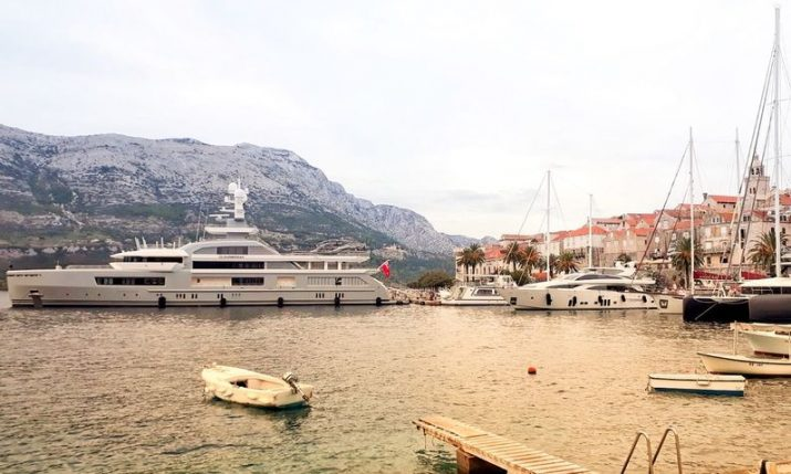 PHOTO: Luxury expedition superyacht Cloudbreak cruising the Croatian coast