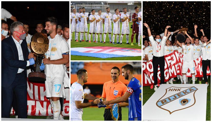 PHOTOS: Rijeka wins the Croatian Cup
