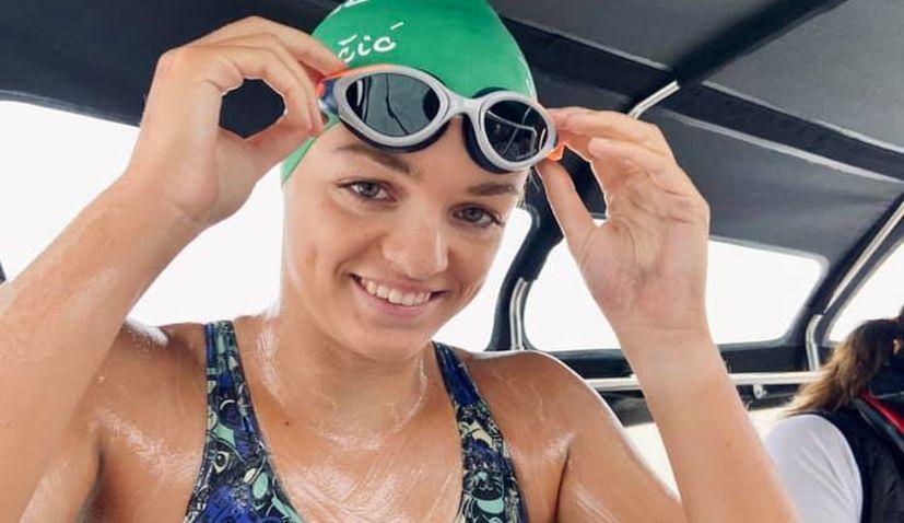 Croatian swimmer Dina Levacic proud despite falling just short of tough North Channel swim