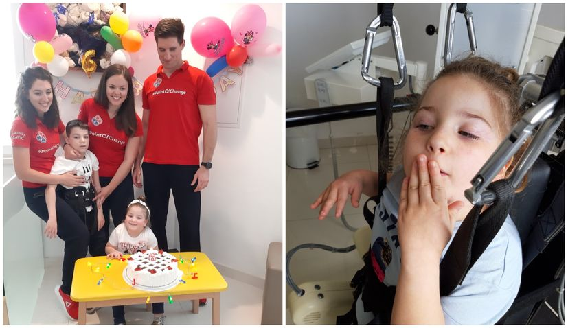 GoFundMe launched for Dubrovnik girl Gordana-Goga Knego (6) to help her walk