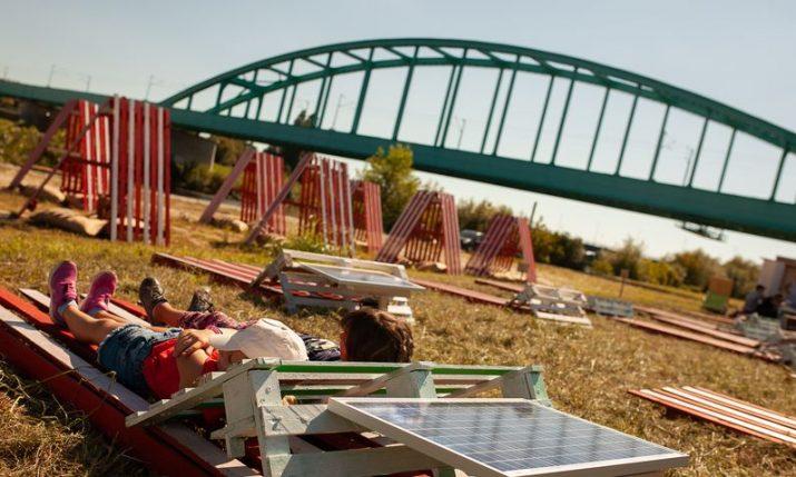 PHOTOS: Green River Festival on the river Sava near Hendrix Bridge starts