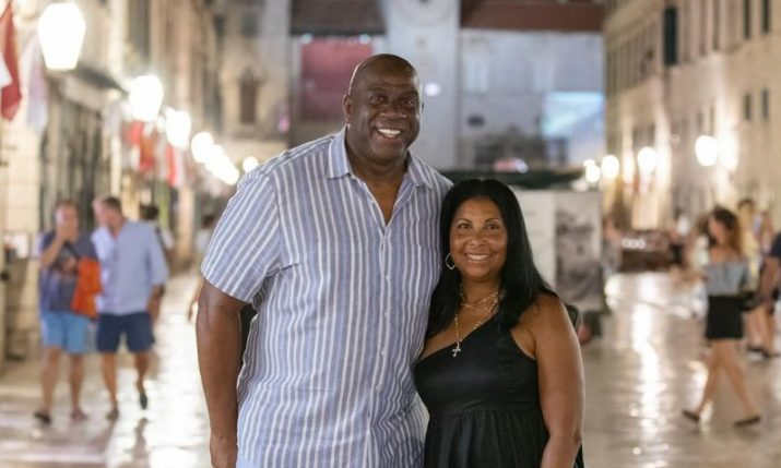 PHOTOS: Magic Johnson continues his tour of the Croatian coast