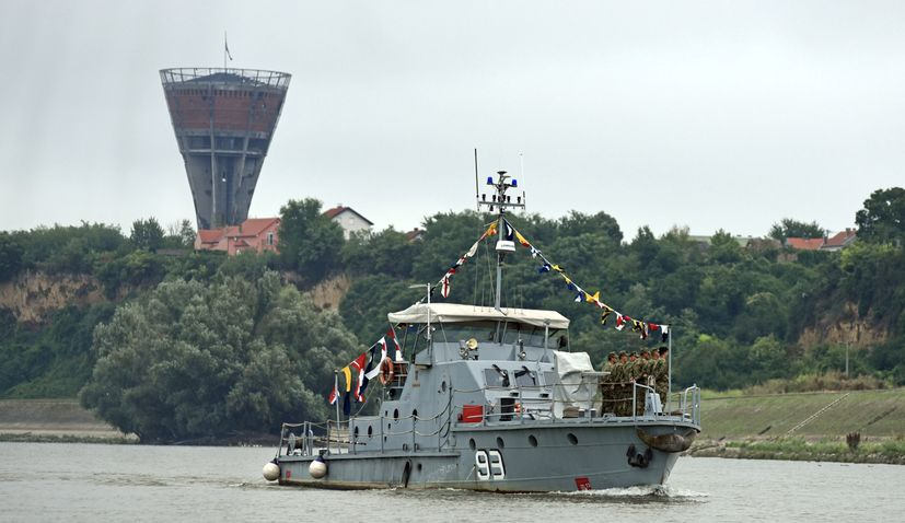 PHOTOS: Patrol boat sails from Osijek to Vukovar to mark 25th anniversary of Operation Storm