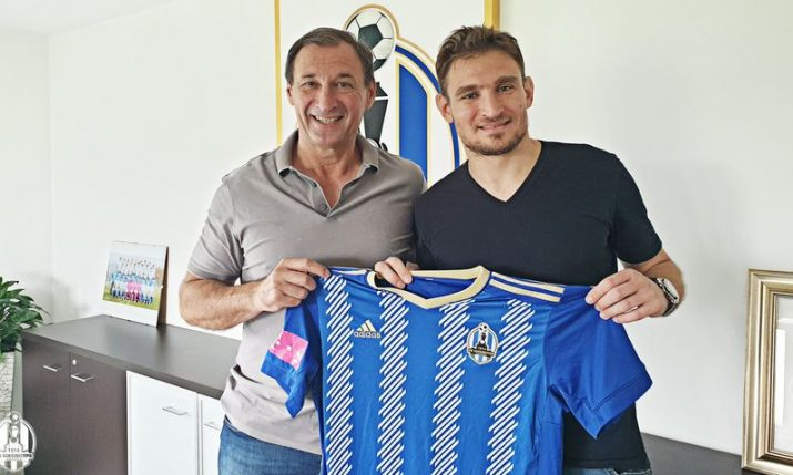 Former international Nikica Jelavić returns home to the Croatian first division