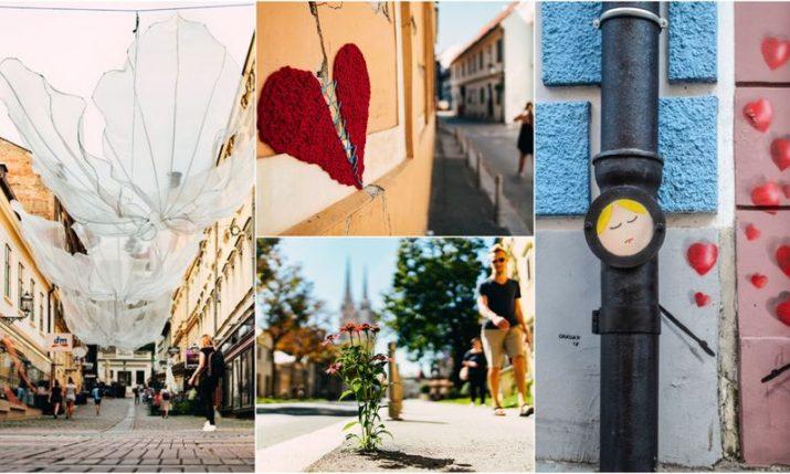 Stroll 'around' the beautiful side of Zagreb
