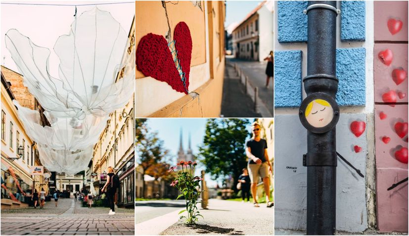 Stroll 'around' the beautiful side of Zagreb