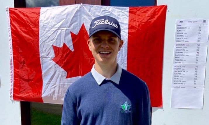Talented teenage Canadian-Croat wins USKids Canadian Invitational Junior Golf Tournament
