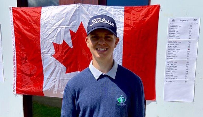 Talented teenage Canadian-Croat wins USKids Canadian Invitational Junior Golf Tournament
