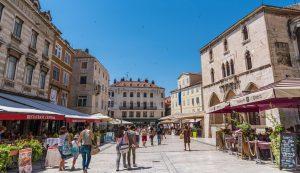 Austrian tourists croatia