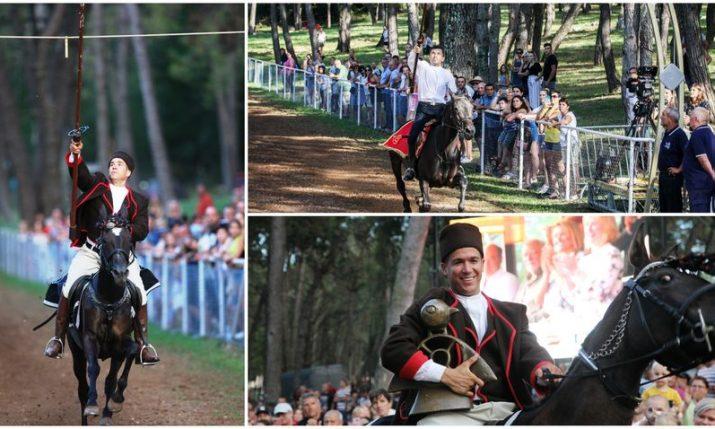 45th traditional Prstenac Race in Barban, Istria won by Antonio Osip