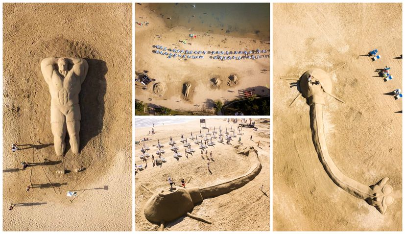Paradise Beach on Rab Island to host 9th sand sculpture festival
