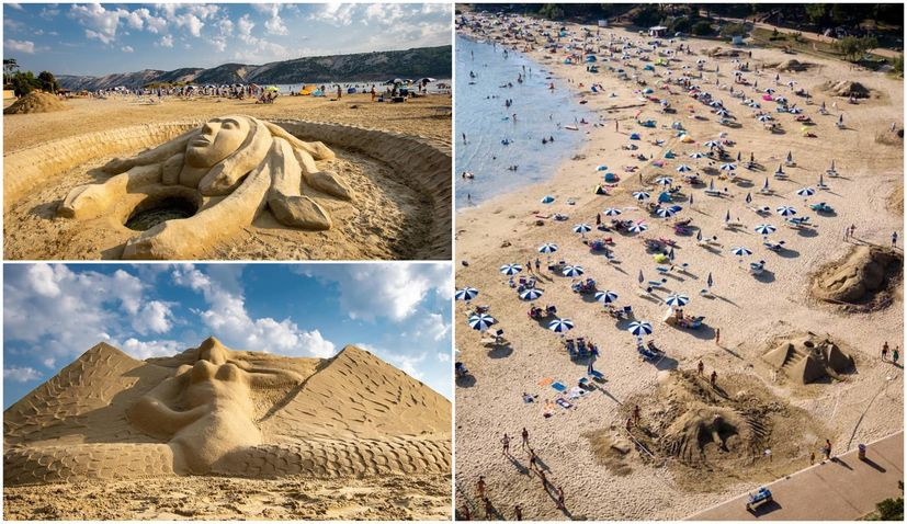 PHOTOS: Winners of sand sculpture festival on Paradise Beach on Rab island revealed