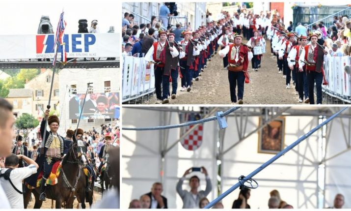 PHOTOS: 305th Sinjska Alka tournament held in Sinj
