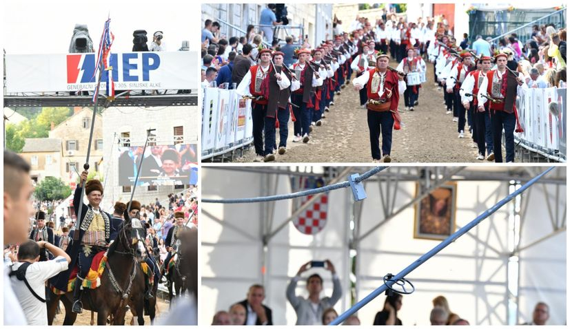 PHOTOS: 305th Sinjska Alka tournament held in Sinj