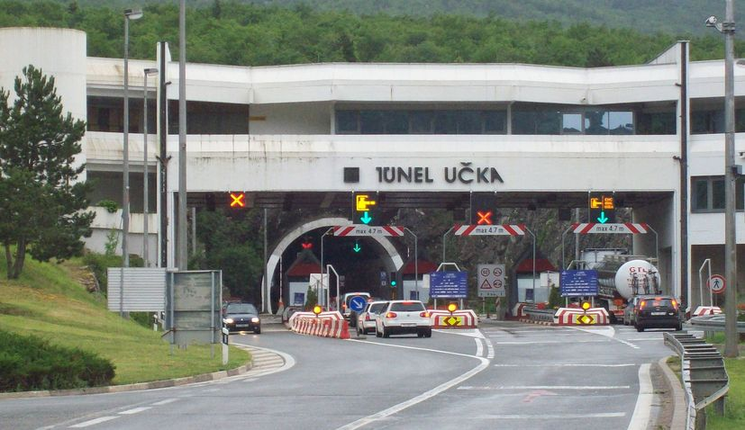 Istrian Y motorway: Second tube of the Učka tunnel to be built