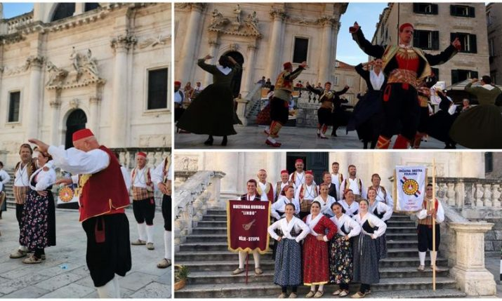 PHOTOS: Vinkovci Autumn Festival in Dubrovnik