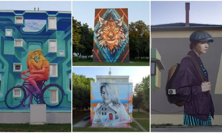 Five famous street artists at VukovArt festival in Vukovar