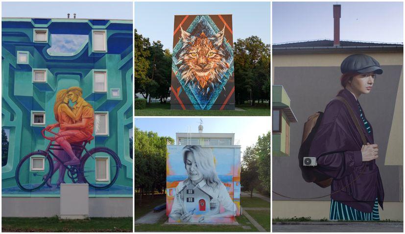 Five famous street artists at VukovArt festival in Vukovar