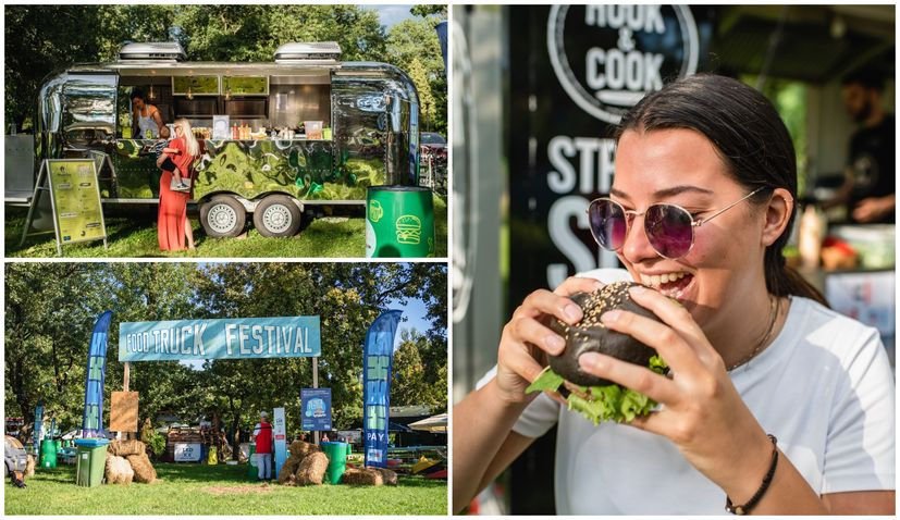 PHOTOS: A visit to the popular Zagreb Food Truck Festival on Jarun