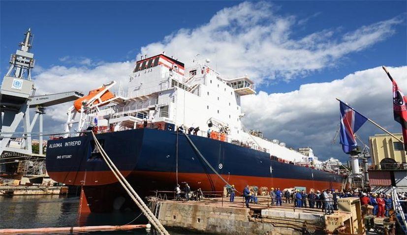$36.5 million self-discharging bulk carrier delivered to Canadian client at 3. Maj shipyard in Rijeka