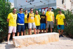 Toni Kukoc bench in Split