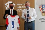 Croatian Football Federation and Croatia Airlines ink cooperation contract