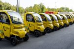 Croatian Post boosts fleet with 20 new electric vehicles