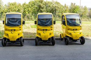 Croatian post electric vehicles