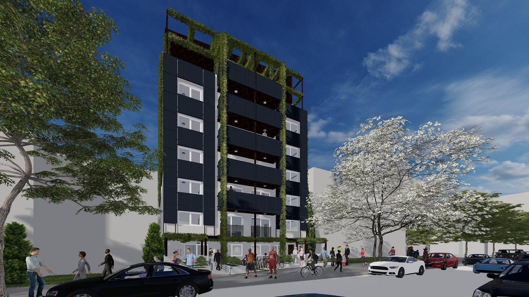 Charlotte Gardens Multi-Family Passive House Project