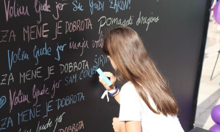 Philanthropy in Croatia: Video encouraging people to help others