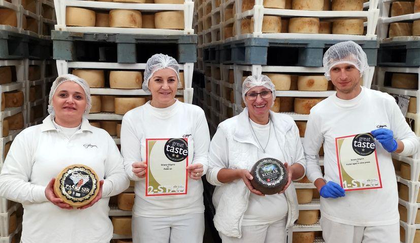 Croatian cheese: Gligora winsmore prestigious world awards