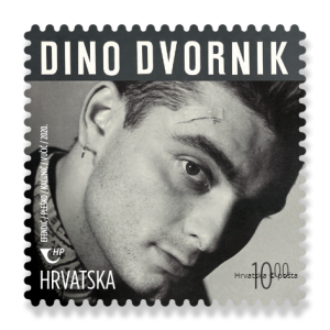 Croatian music legends stamps