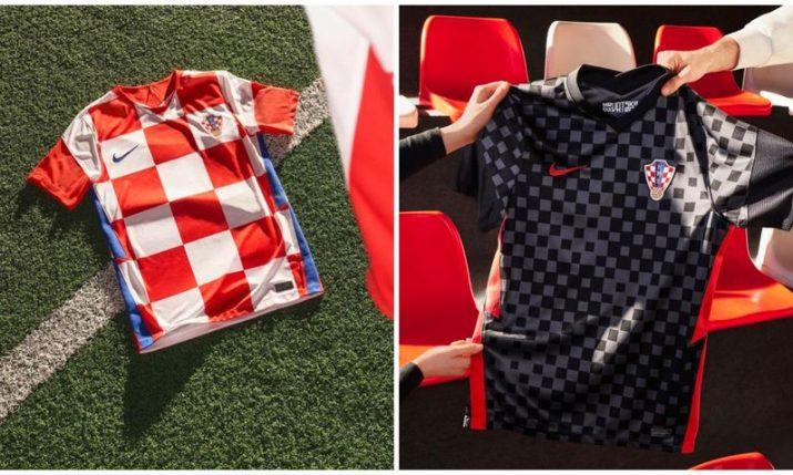 PHOTOS: New Croatia football kit unveiled