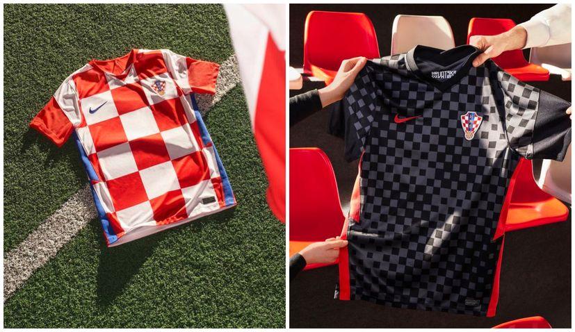 PHOTOS: New Croatia football kit unveiled