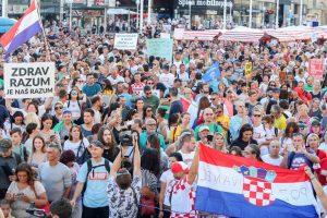 Anti Covid strike croatia