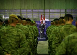 croatian troops home afghanistan