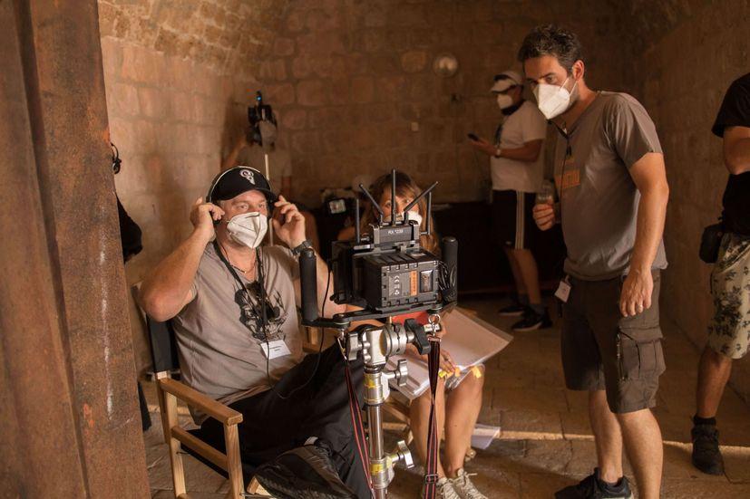 Filming in Croatia