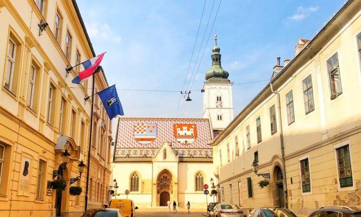 Average net pay in Zagreb in June €1,036