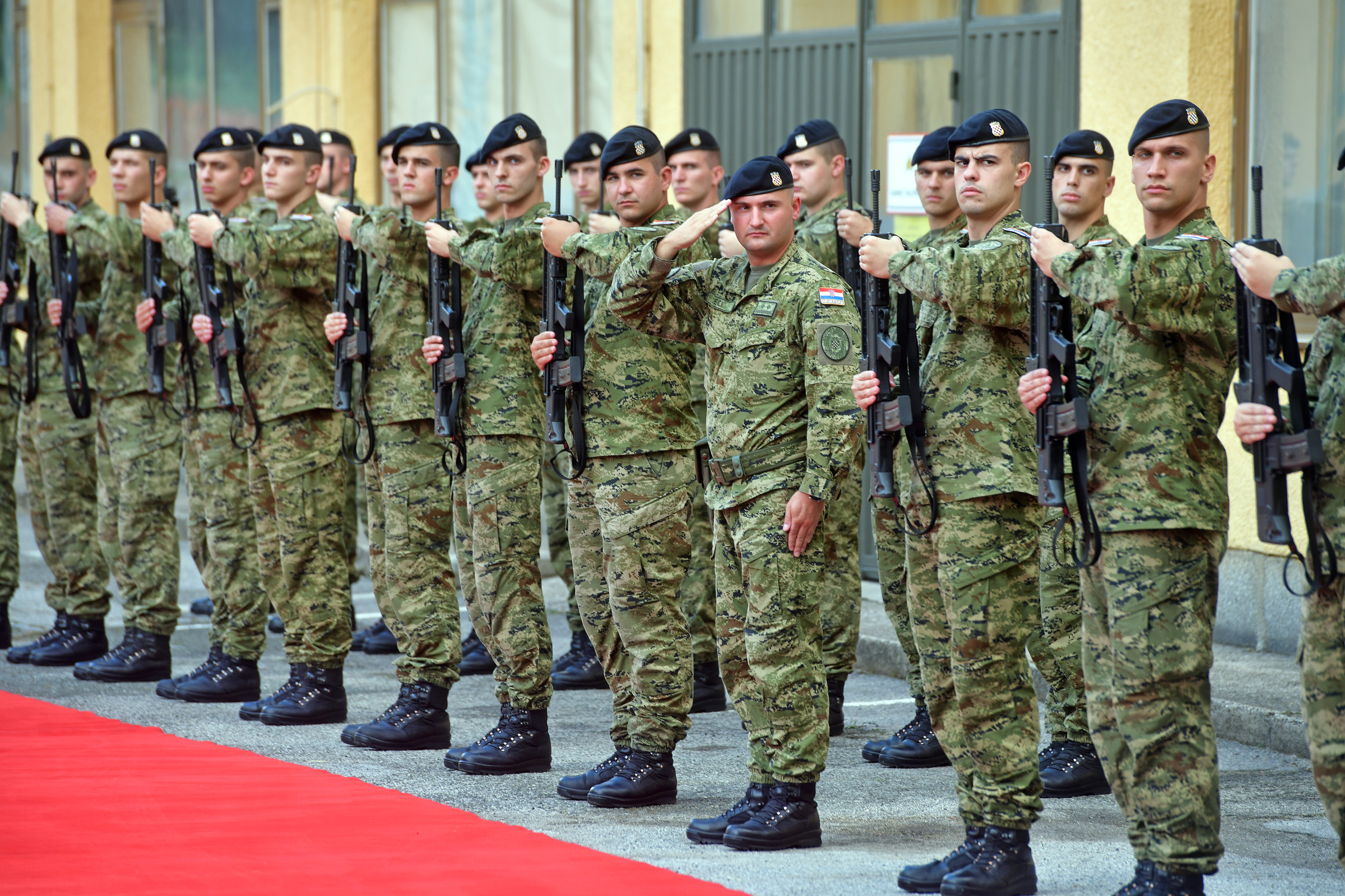 Croatian army